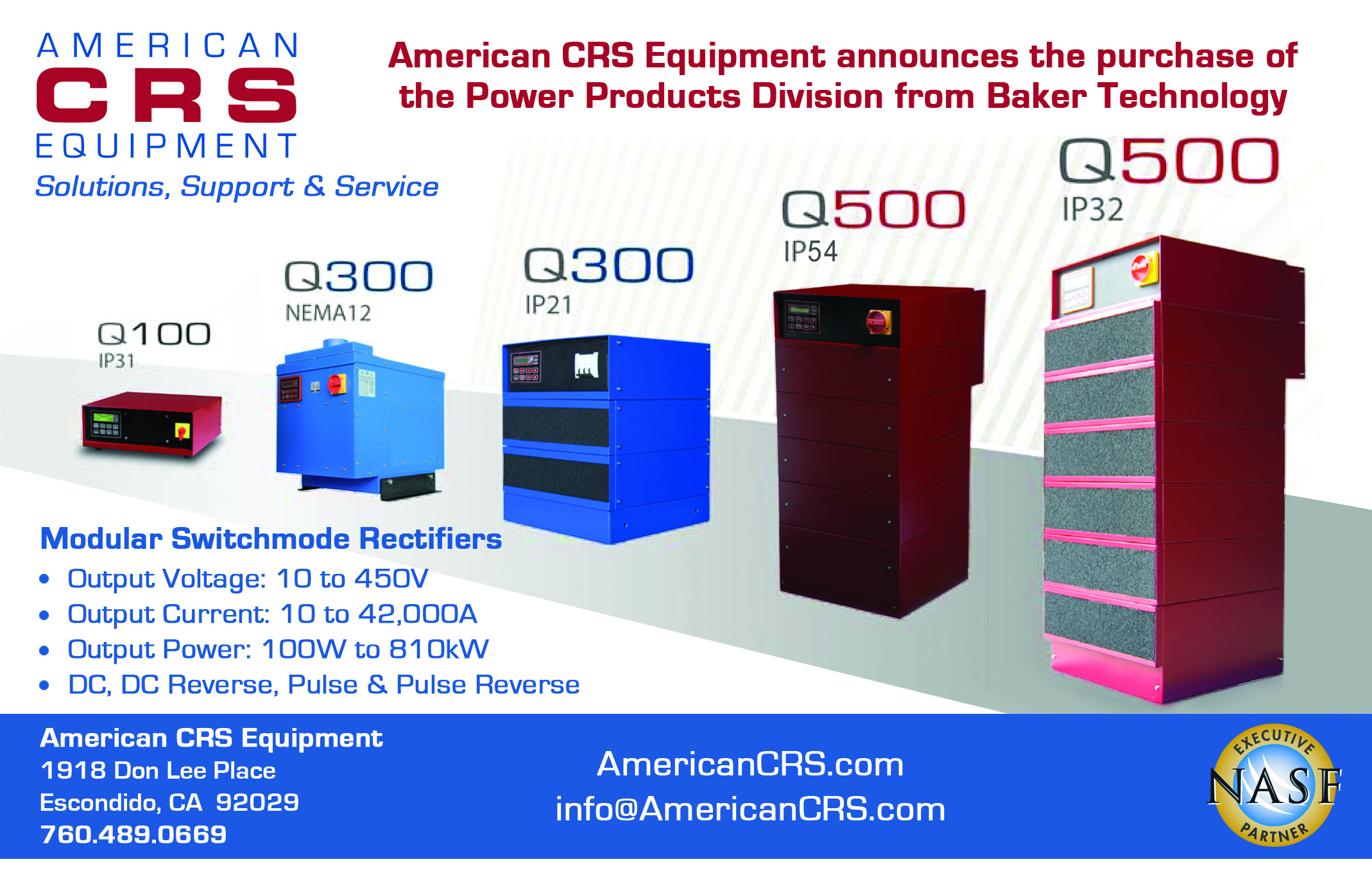 Crs Industrial Power Equipment